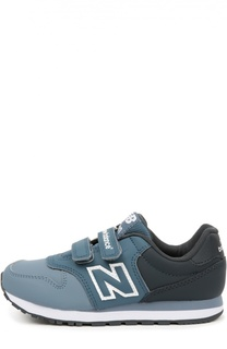 Комбинированные кроссовки 500 с застежками велькро New Balance