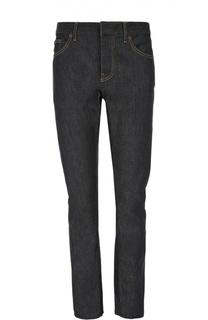 Зауженные джинсы с контрастной отстрочкой Balenciaga