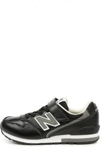 Кожаные кроссовки 996 с застежкой велькро New Balance