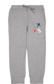 Спортивные брюки с декоративной отделкой Simonetta