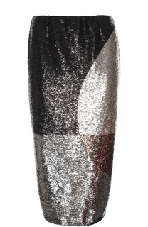 Юбка-карандаш с пайетками и разрезом сзади Tom Ford