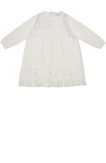 Вязаное платье с бантами Aletta