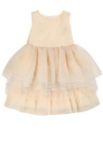 Многоярусное платье без рукавов I Pinco Pallino