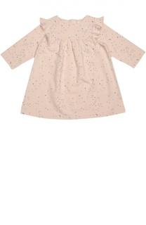 Платье джерси с оборками Chloé
