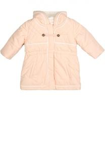 Стеганая куртка с капюшоном Chloé