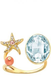 Разомкнутое кольцо Eponym Swarovski