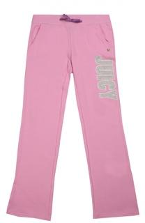 Спортивные брюки с декоративной отделкой Juicy Couture