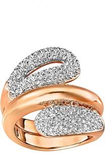 Широкое кольцо Every Swarovski