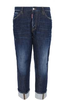 Укороченные джинсы свободного кроя Dsquared2
