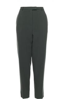 Укороченные брюки прямого кроя с карманами Escada