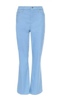 Укороченные расклешенные джинсы с завышенной талией Escada Sport