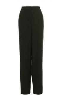 Широкие брюки прямого кроя с карманами Escada