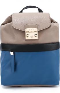 Рюкзак Lara из комбинированной кожи Furla
