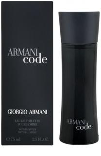 Парфюмерная вода Armani Black Code Giorgio Armani