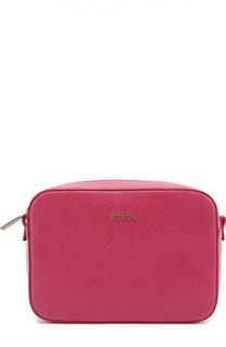 Кожаная сумка Stacy Furla