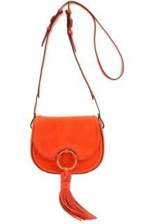 Замшевая сумка Tassel Mini Tory Burch