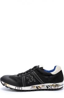 Комбинированные кроссовки Lucy с принтом на подошве Premiata