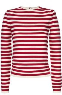 Пуловер прямого кроя в полоску Sonia Rykiel
