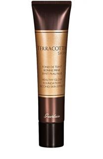 Тональное средство с пудровым эффектом Terracotta Skin, оттенок 02 Brunette Guerlain