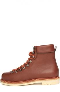 Кожаные ботинки Laax Walk на шнуровке Loro Piana