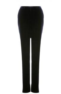 Бархатные брюки прямого кроя Tom Ford