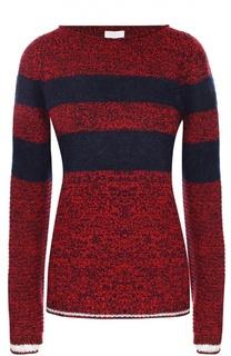 Пуловер свободного кроя с круглым вырезом Escada Sport