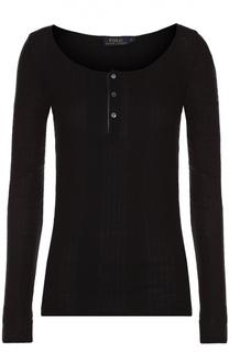 Облегающий пуловер с круглым вырезом Polo Ralph Lauren