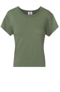 Укороченная футболка прямого кроя Re/Done