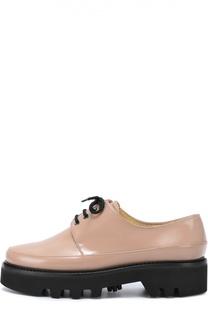 Кожаные ботинки Dingo на массивной подошве Walter Steiger