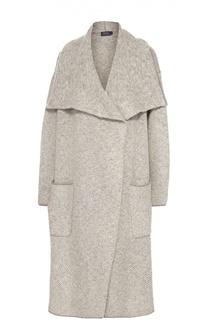 Удлиненный кардиган с накладными карманами Polo Ralph Lauren