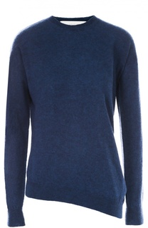 Пуловер асимметричного кроя с круглым вырезом Stella McCartney