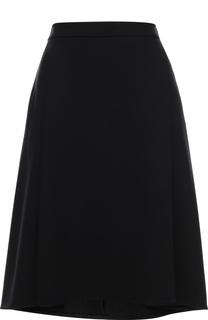 Расклешенная юбка асимметричного кроя Escada
