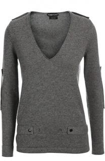 Вязаный пуловер Tom Ford