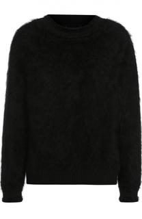 Пуловер свободного кроя с круглым вырезом и открытой спиной Tom Ford