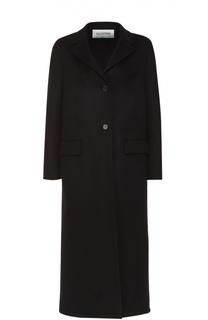 Удлиненное шерстяное пальто с карманами Valentino