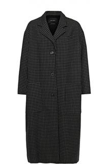 Удлиненное пальто свободного кроя в клетку Isabel Marant