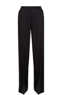 Шерстяные широкие брюки со стрелками Diane Von Furstenberg