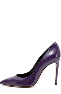 Лаковые туфли Perfect на шпильке Casadei