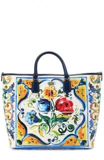 Сумка Lara с принтом Maiolica Dolce & Gabbana