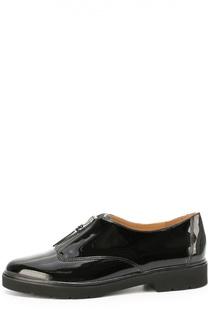 Лаковые ботинки с молнией Michael Michael Kors