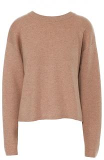 Кашемировый пуловер свободного кроя с круглым вырезом Proenza Schouler