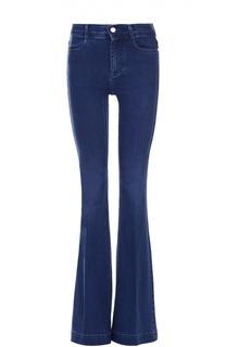 Расклешенные джинсы с отворотами Stella McCartney