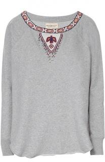 Хлопковый свитшот с декоративной вышивкой Denim&Supply by Ralph Lauren