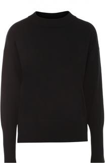 Пуловер свободного кроя с круглым вырезом DKNY