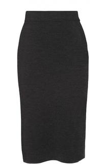 Вязаная юбка-карандаш с разрезом Cruciani