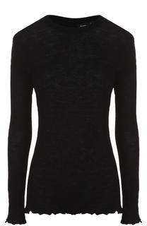 Облегающий пуловер фактурной вязки Proenza Schouler