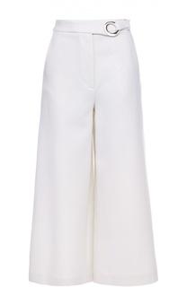 Укороченные широкие брюки с поясом Proenza Schouler
