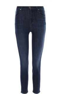 Облегающие джинсы-скинни с завышенной талией J Brand