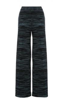Вязаные широкие брюки в полоску M Missoni