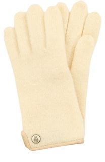 Вязаные шерстяные перчатки Roeckl